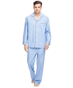 Check Pajamas by Brooks Brothers in The Mindy Project