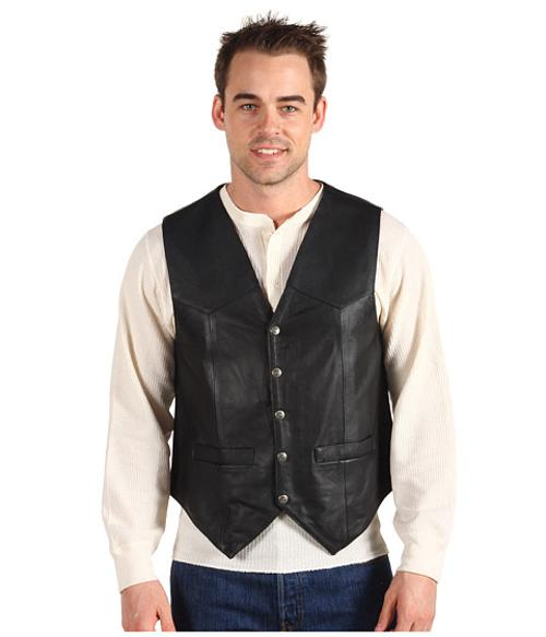 Leather Vest by Scully in We're the Millers
