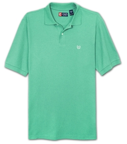 Pique Knit Polo Shirt by Chaps in Sisters