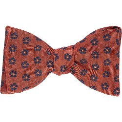 Floral-Pattern Jacquard Silk Bow by Barneys New York in John Wick