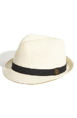 'Fine Day' Straw Fedora by Goorin Brothers in Blended