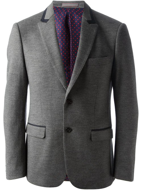 Jersey Style Blazer by Moschino in Fifty Shades of Grey