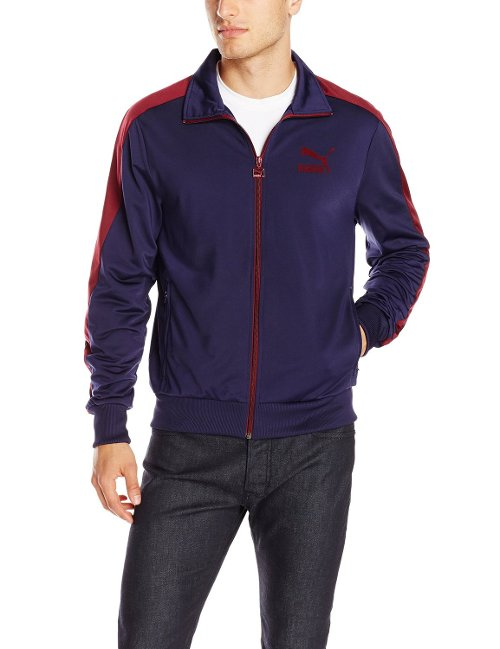 T7 Front-Zip Track Jacket by Puma in The Town