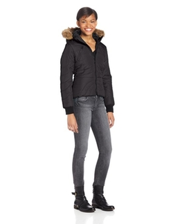 Juniors Puffer Jacket by U.S. Polo Assn. in Barely Lethal