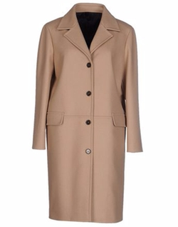 Single Breasted Coat by Jil Sander Navy in The Good Wife