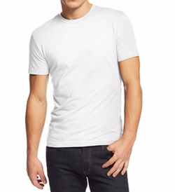 Slim-Fit Crewneck T-Shirt by Alfani in Suits
