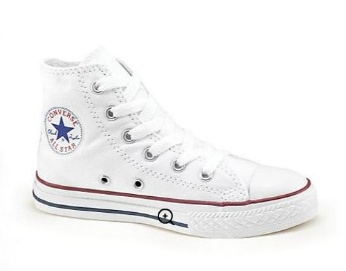 Kid's Chuck Taylor All Star Canvas High-Top Sneakers by Converse in No Escape