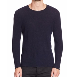 Giles Crewneck Sweater by Rag & Bone in Billions