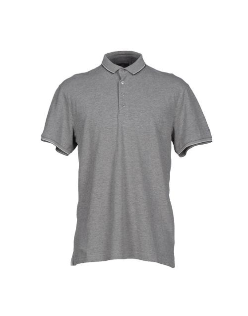 Side Slit Hemline Polo Shirt by Verri in Ballers - Season 1 Episode 1
