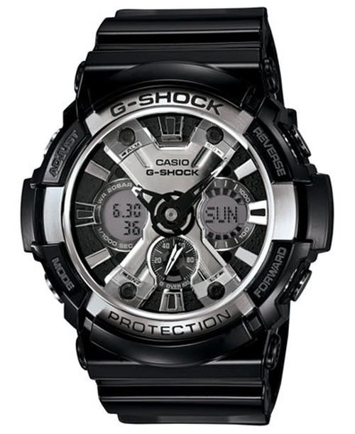Men's Analog-Digital Black Resin Strap Watch by G-Shock in Man With A Plan