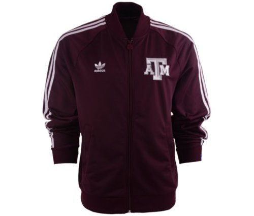 Men's Texas A&M Aggies Legacy Track Jacket by Adidas in The Town