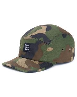 Glendale Camouflage Logo Cap by Herschel in Dope