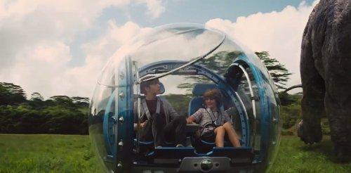 Gyrosphere by Seth Engstrom & Dean Sherriff (Concept Artist) in Jurassic World