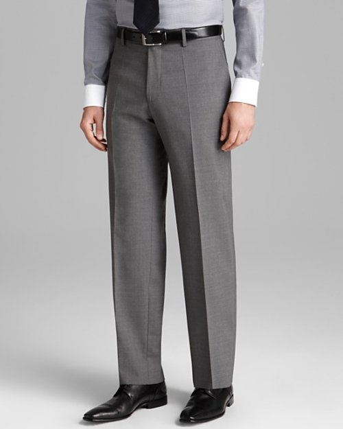 Classic Fit Jeffrey Trousers by Boss Hugo Boss in John Wick