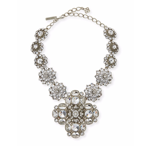 Crystal Statement Necklace by Oscar De La Renta in Empire - Season 3 Season 3 Preview