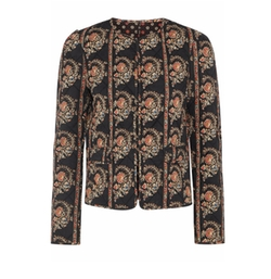 Elmer Reversible Floral-Print Quilted Cotton Jacket by Étoile Isabel Marant in Guilt