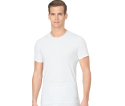 Slim-Fit Crew-Neck T-Shirt by Calvin Klein in Adult Beginners
