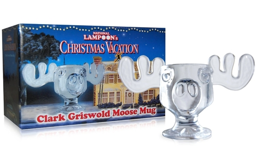 Glass Moose Mug by National Lampoon Christmas Vacation in Christmas Vacation