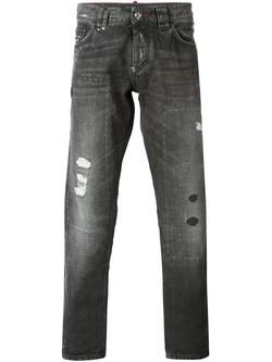 'Dallas' Straight Leg Jeans by Philipp Plein in Empire