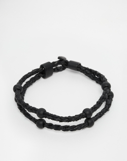 Plaited Leather Bracelet by Icon Brand in Modern Family