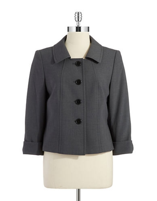 Cropped Blazer by Tahari Arthur S. Levine in Mr. & Mrs. Smith