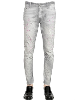 Sexy Twist Grey Wash Denim Jeans by DSquared2 in Pretty Little Liars