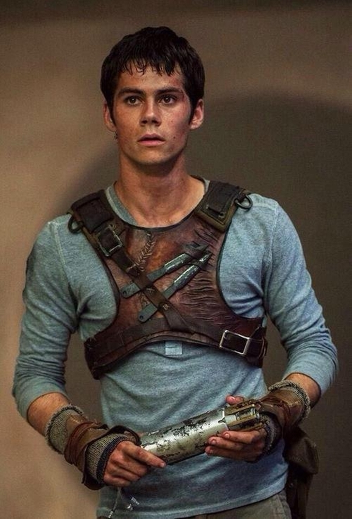Custom Made Leather Chest Plate (Thomas) by Christine Bieselin Clark and Simonetta Mariano (Costume Designers) in The Maze Runner
