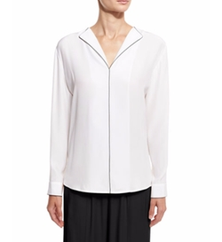 Long-Sleeve Silk Blouse by ATM Anthony Thomas Melillo in House of Cards