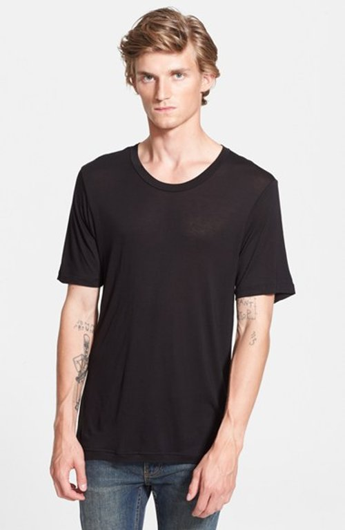 Scoop Neck T-Shirt by Blk Dnm in Only God Forgives