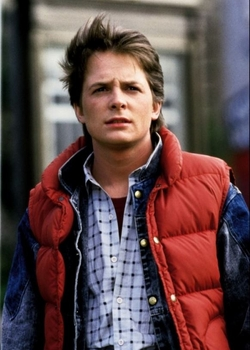 Bubble Down Vest by Class 5 in Back To The Future Part II