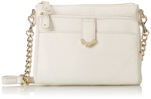 Celeste Small Leather Cross Body Bag by Jack Rogers in Vacation
