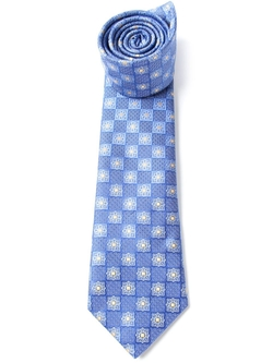 Abstract Pattern Tie by Canali in Ballers