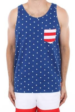 Stars and Stripes Tank by American Eagle in Pitch Perfect 2