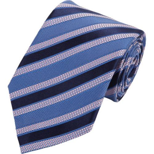 Diagonal Striped Tie by Ermenegildo Zegna in Lucy