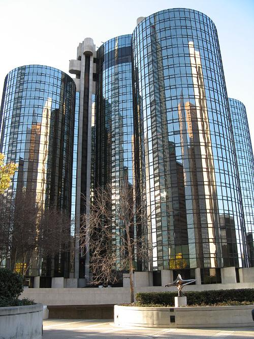 Westin Bonaventure Hotel Los Angeles, California in The Purge: Anarchy