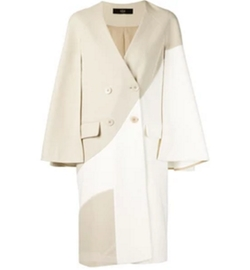 Cape Sleeve Coat by Tibi in Empire