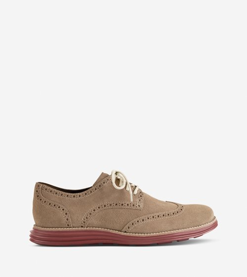 LunarGrand Wingtip Shoes by Cole Haan in Her