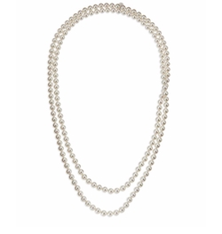 Pearl Strand Necklace by Majorica in The Good Wife