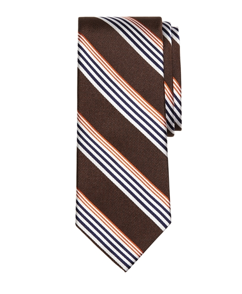 Sidewheeler Music Stripe Tie by Brooks Brothers in The Nice Guys
