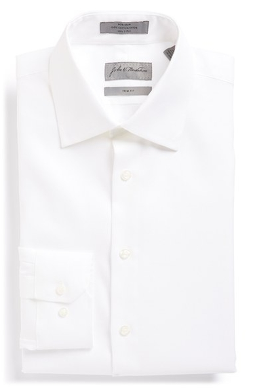 Trim Fit Solid Dress Shirt by John W. Nordstrom in Mamma Mia!