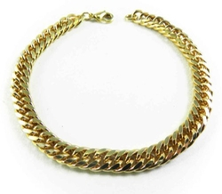 Italy Double Curb Chain Bracelet by Tendenze in Pretty Little Liars