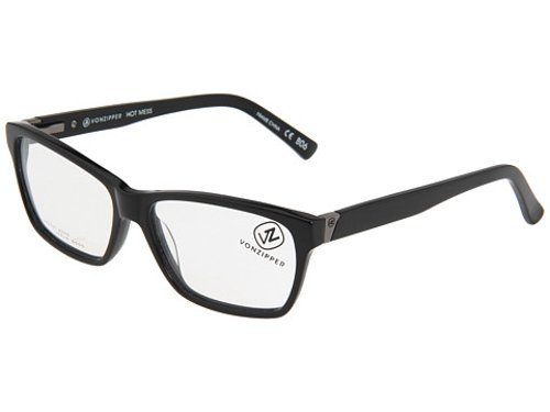 Hot Mess Reader Eyeglasses by VonZipper in Black or White