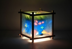 Aquarium Lamp by Magic Lamp in If I Stay