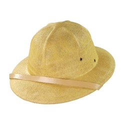Toyo Straw Pith Helmet by Elope in Couple's Retreat