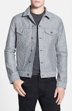 Lowell Denim Jacket by J Brand in Birdman
