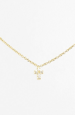 Cross Pendant Necklace by Sugar Bean Jewelry in Clueless