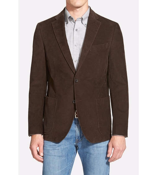 Classic Fit Stretch Corduroy Blazer  by Nordstrom  in Silicon Valley - Season 3 Episode 1