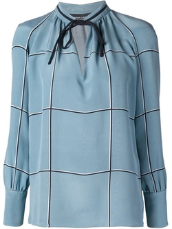 Tied Neck Blouse by Derek Lam in Scandal