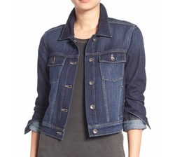 'Vivienne' Denim Jacket by Paige in Will & Grace