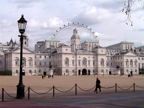 Horse guards (Building) London, England in Edge of Tomorrow